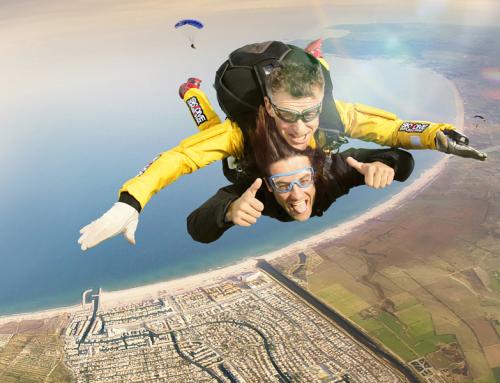 Salt amb paracaigudes